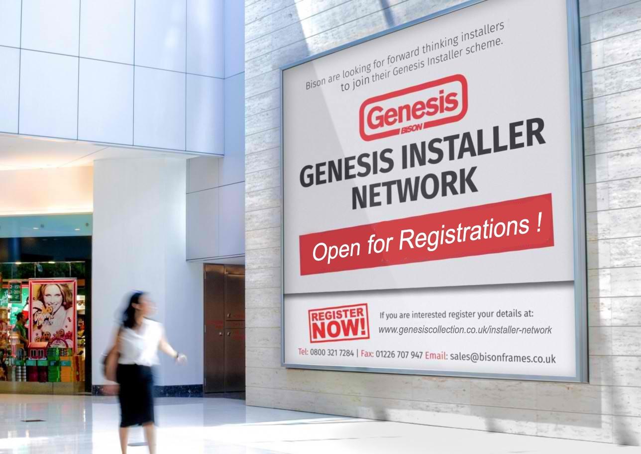 Genesis Installer Network registrations